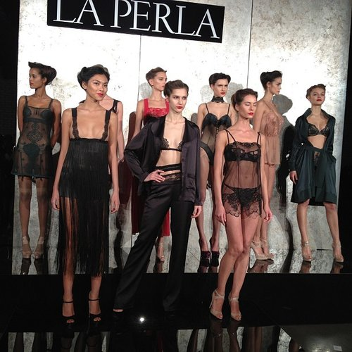 What a better way to get us into the Valentine's Day mood than with the La Perla offering for Fall 2013?