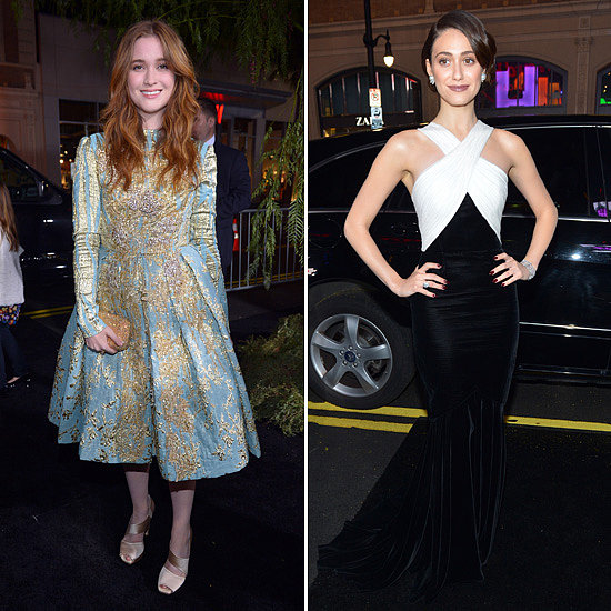 Alice Englert and Emmy Rossum Join Their Cast For a Beautiful Creatures Premiere