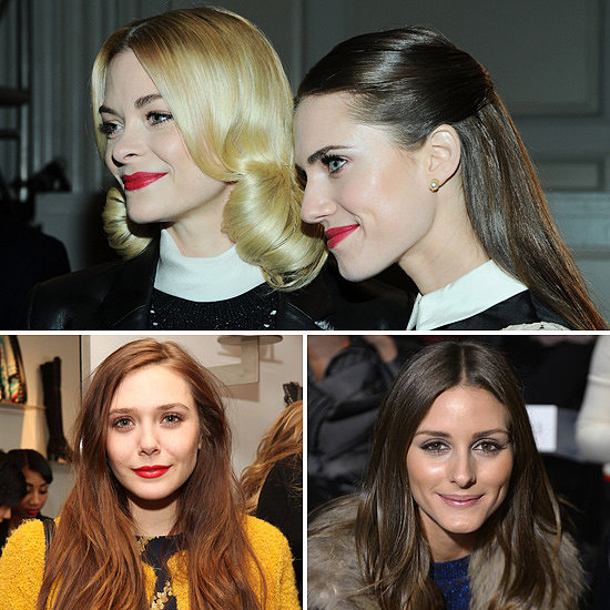 Keep Up With the Beauty-Savvy Celebrities at NY Fashion Week