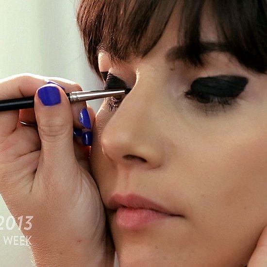 Libertine Hair and Makeup Video | Fashion Week Fall 2013