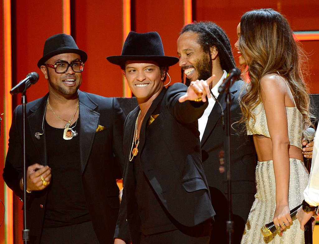 Bruno Mars, Ziggy Marley and Rihanna got together for a Bob Marley tribute.