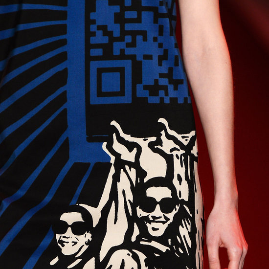 Vivienne Tam QR Code Dress