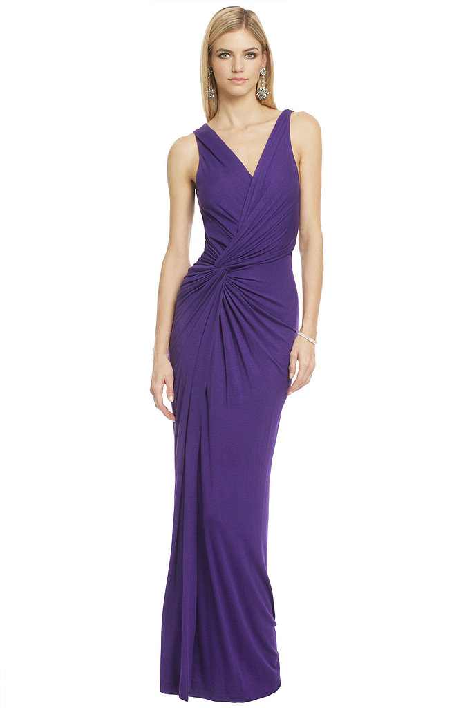 This purple-hued Donna Karan Deep Thought gown is equal parts sophisticated and sexy. It retails for $2,495, but borrow it for $350.