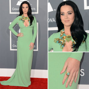 Pictures of Katy Perry in Gucci Resort '12 at 2013 Grammys