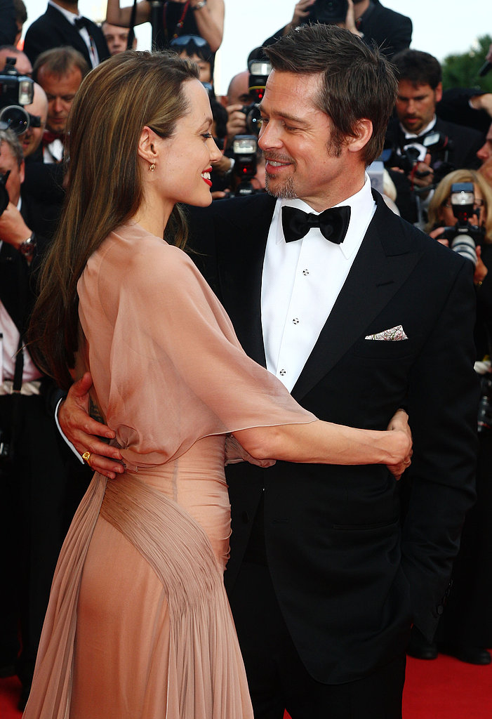 Angelina wrapped her arms around Brad at the Cannes Film Festival in May 2009.
