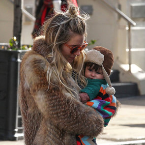 Sienna Miller Takes Marlowe Sturridge to an NYC Park
