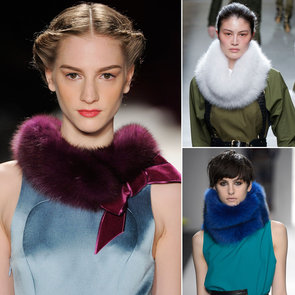 Colored Fur Runway Trend Fall 2013