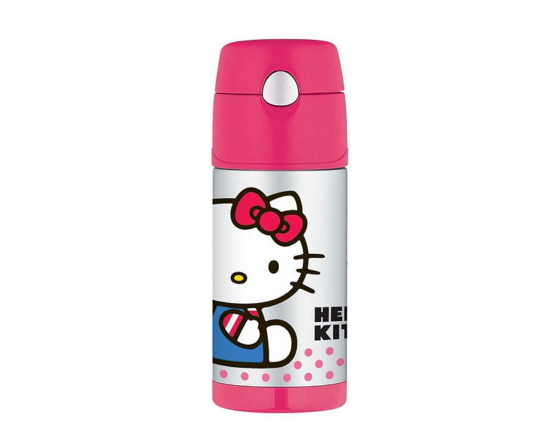 Keep drinks like hot cocoa warm even after she's gotten to school with this cute Hello Kitty thermos ($16).