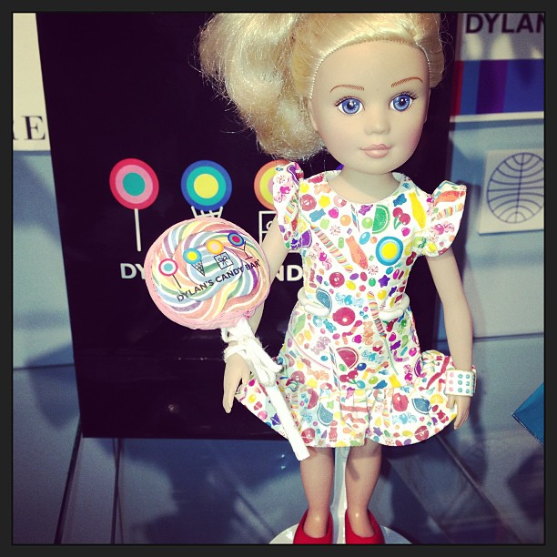 Dylan's Candy Bar and Madame Alexander launched Candy Princess, an eight-inch play doll.