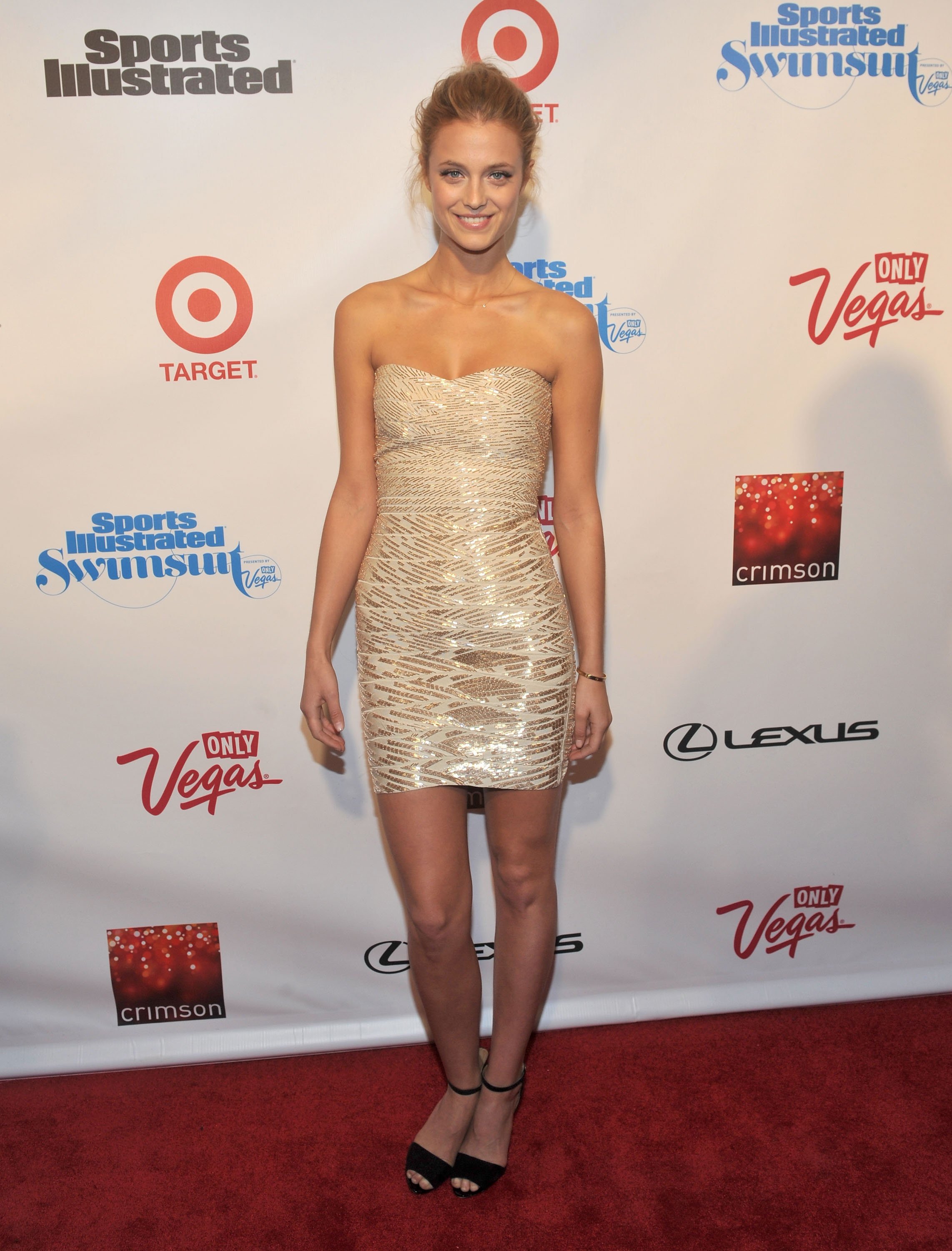 Kate Bock worked the red carpet.