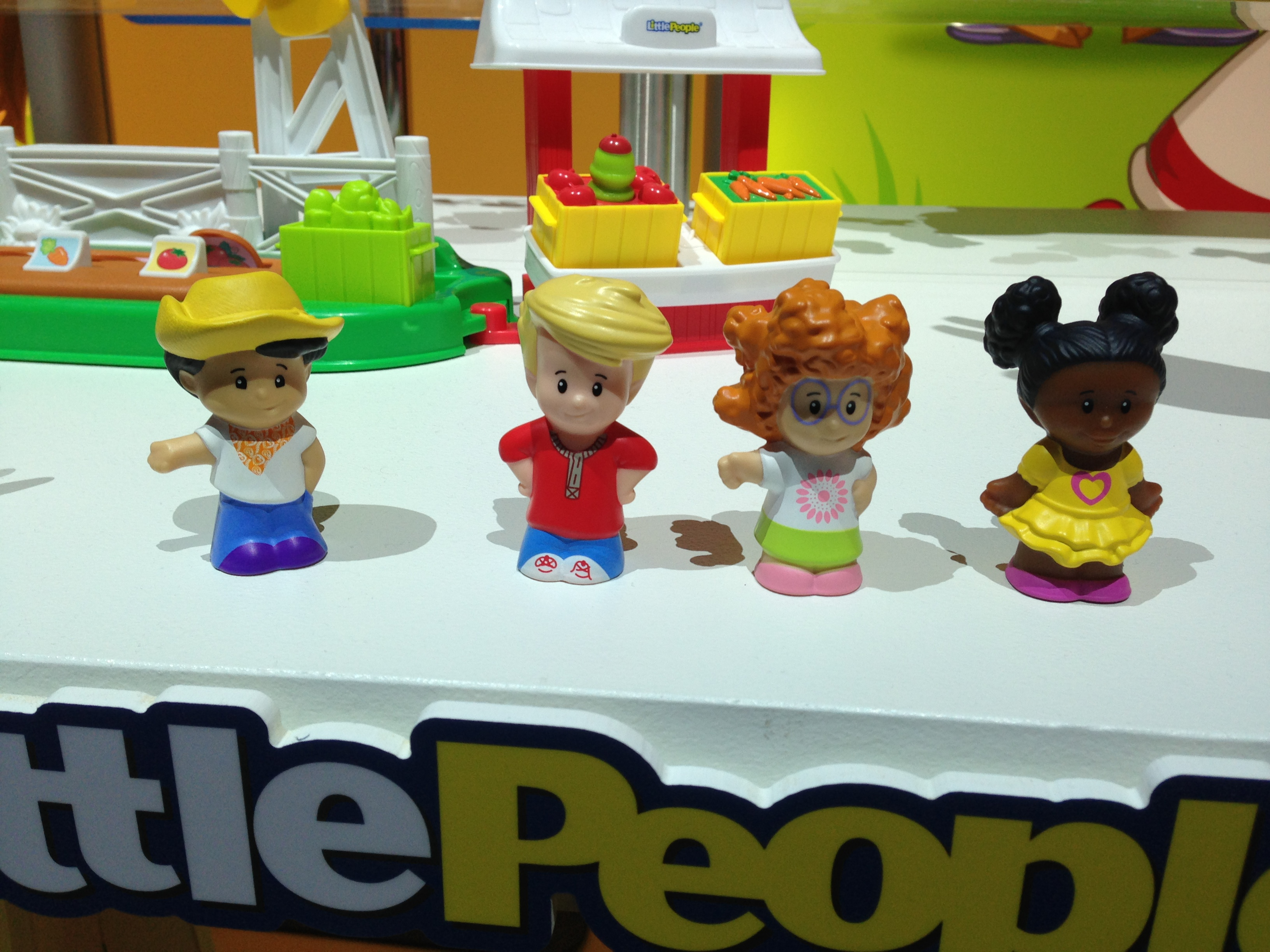 Meet Fisher-Price's new Little People! They've got an updated look, and fun-loving personalities to match.