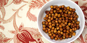 Sweet Snack: Honey Roasted Cinnamon Chickpeas