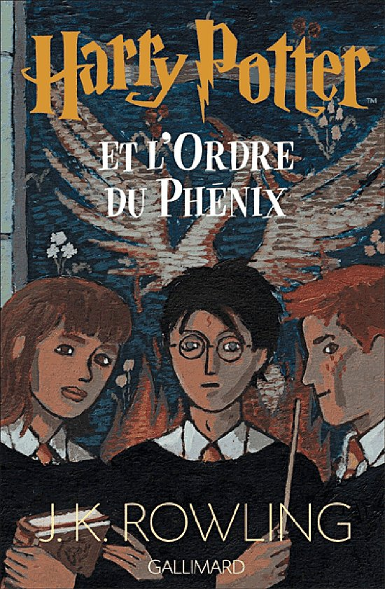 Harry Potter and the Order of the Phoenix, France