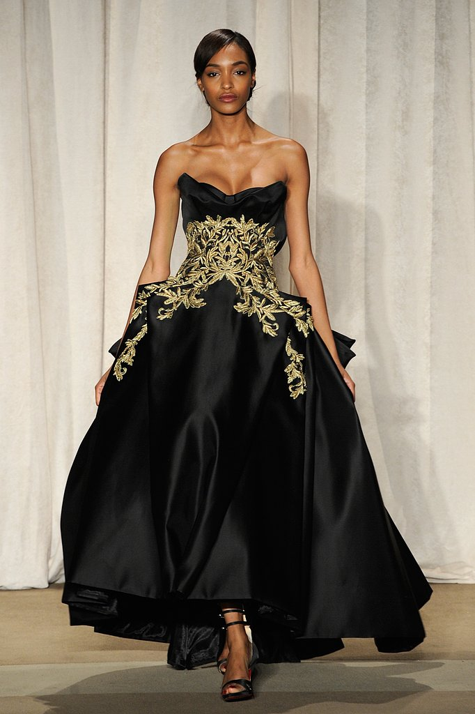 2013 Fall New York Fashion Week: Marchesa