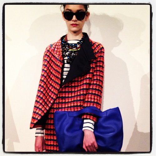 Colorful prints and pops of color at J. Crew.