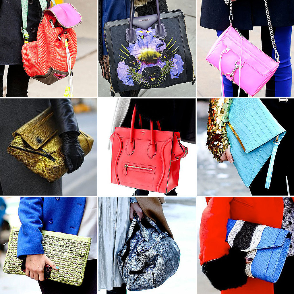 There were so many Céline bags spotted on the arms of this season's street-style stars.
