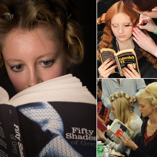 Backstage Book Club: What Models Read Off the Runways