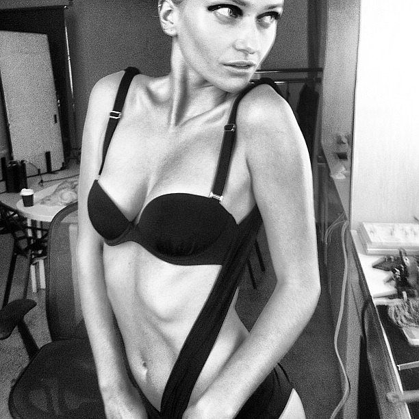 Model Annabella Barber knows how to work it for the camera! Source: Instagram user annabellabarber