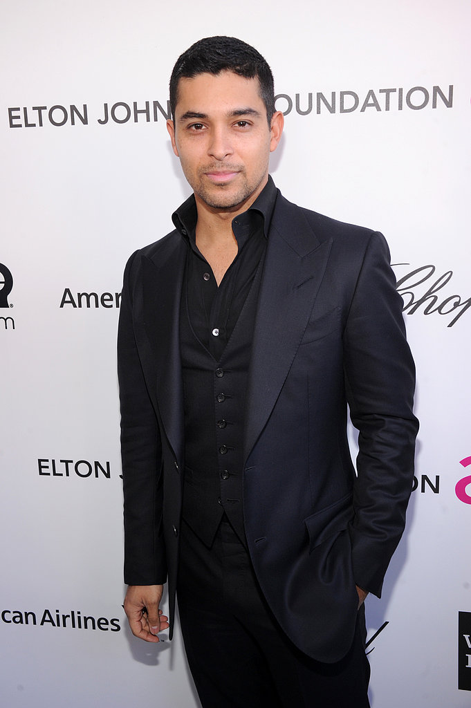Wilmer Valderrama attended the 2013 Elton John Oscar party in LA.