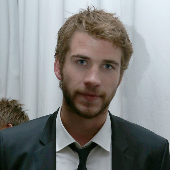 Liam Hemsworth at Grey Goose Pre Oscars Party 2013