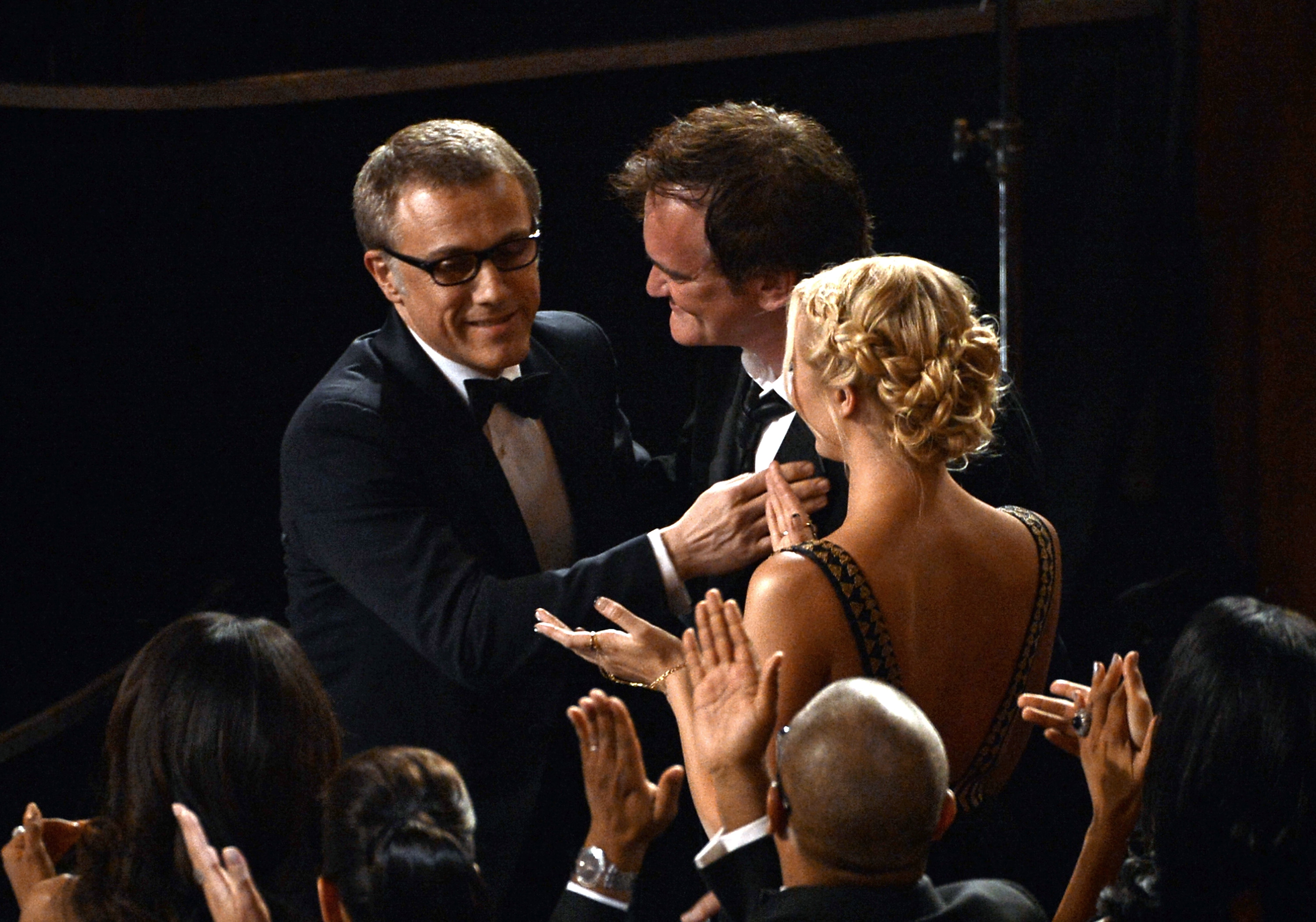 Christoph Waltz bonded with his Django Unchained director, Quentin Tarantino.