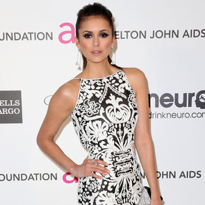 Nina Dobrev Oscar Party Dress 2013 | Pictures