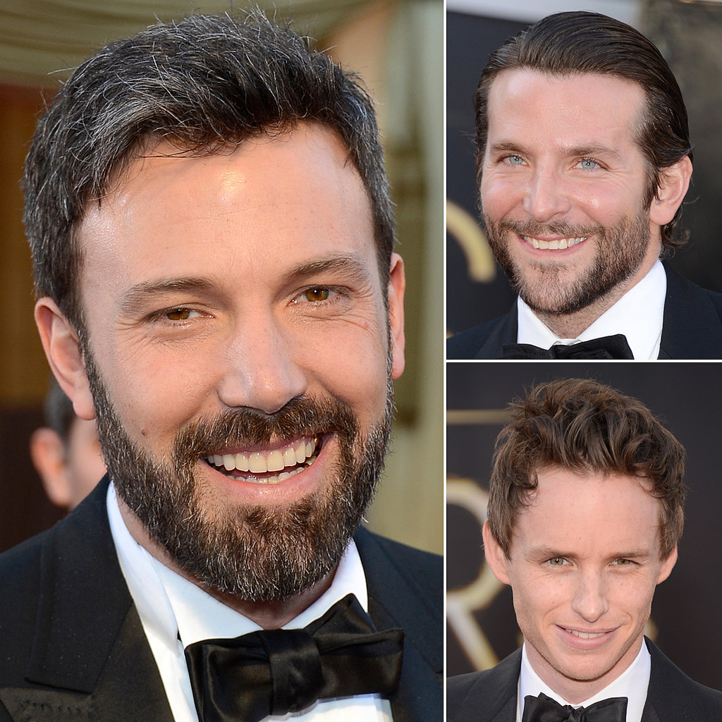 Sexy, Scruffy Stars Heat Up the Oscars