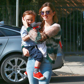 Miranda Carrying Flynn Bloon in LA | Pictures