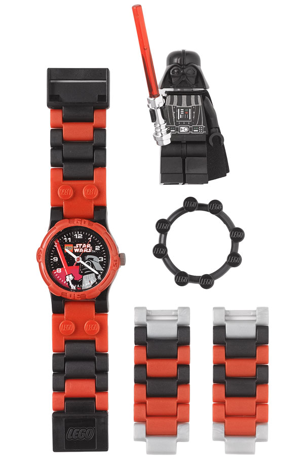 Lego Darth Vader Watch Set