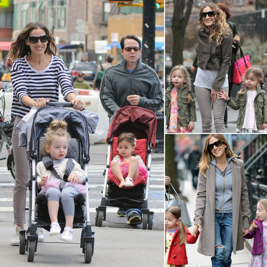 Sarah Jessica Parker's Twins' Trendy Downtown Style