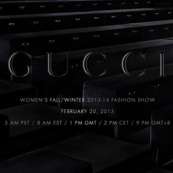 Gucci Fall 2013 Fashion Show Live-Stream | Video