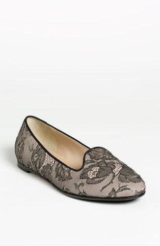 Valentino 'Lace Art' Slipper