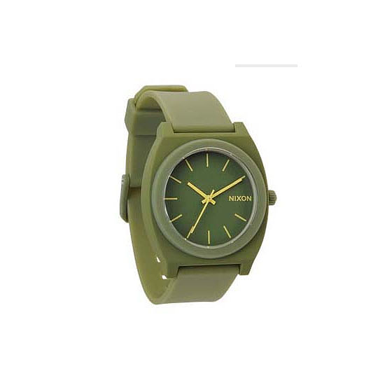 Keep the time with an all-weather watch that nods to the trend without going all-out.  Watch, $99.99, Nixon at General Pants