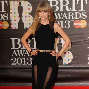 Stars on the Red Carpet at the Brit Awards 2013