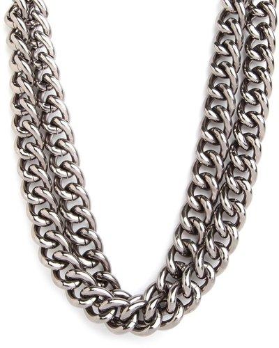 Double Silver Collar