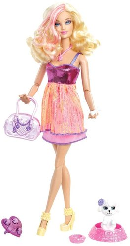 Barbie Fashionistas Barbie Doll and Pet