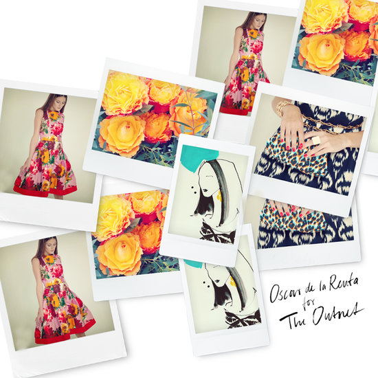See Oscar de la Renta's collab for The Outnet feat. Olivia P