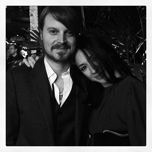Musician Michelle Branch posed with friend Nick Maybury at the Global Green USA pre-Oscars party on Wednesday in LA. Source: Instagram user nickmaybes