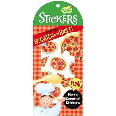 Scratch-and-Sniff Stickers