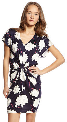 Diane Von Furstenberg Nobuko Printed Silk Dress (CUSP Top Seller!)