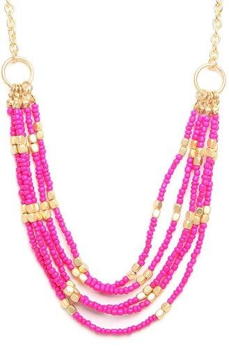 Pink Maasai Strands