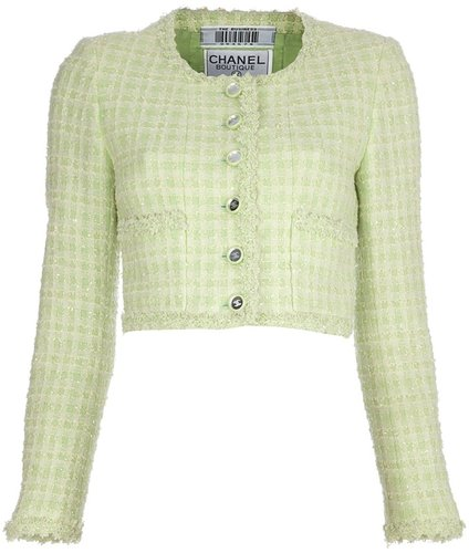Chanel Vintage Cropped Jacket