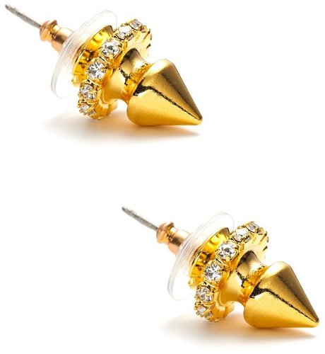Courtney Lee Gold Glitz Studs