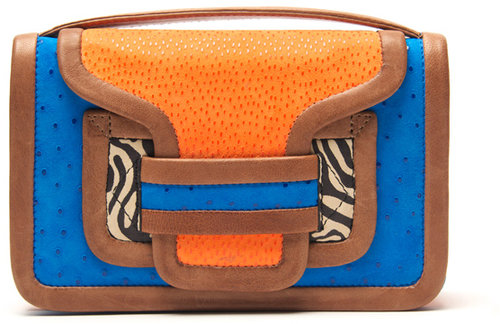 Pierre Hardy Multicolor Mini Clutch