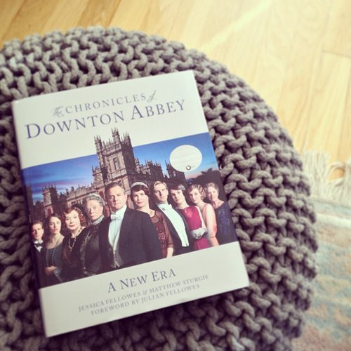 On our POPSUGAR Love & Sex Instagram we posted our weekend reads: Chronicles of Downton Abbey.
