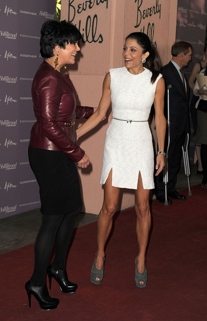 In June 2011, Bethenny (pictured here with Kris Jenner) landed on the cover of Forbes magazine after selling her SkinnyGirl Cocktails drinks company. So far, she's made the money magazine's Celebrity 100 list — which highlights the most powerful celebrities in the world — three times!