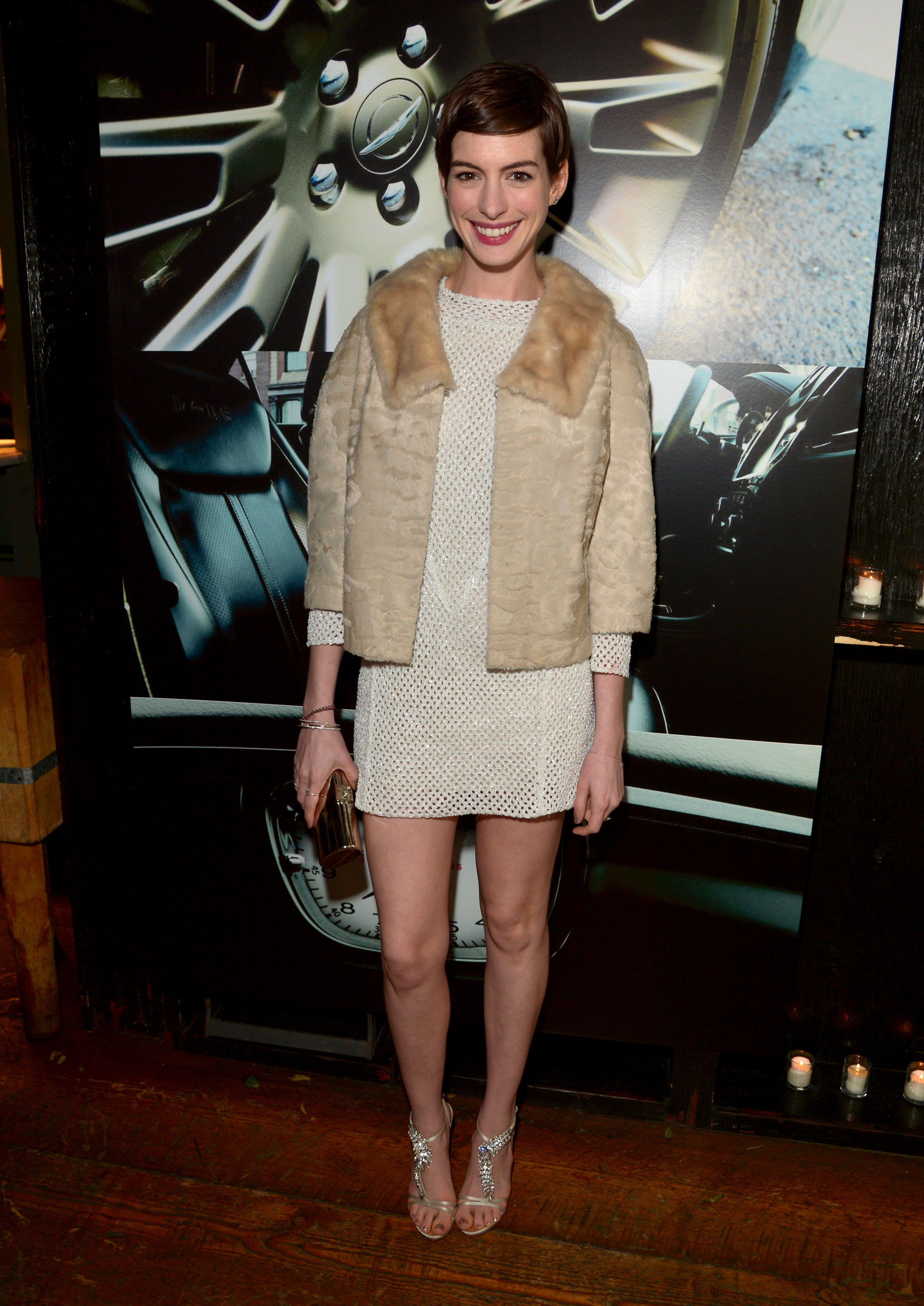 Anne Hathaway wore Spring 2013 Theyskens' Theory at
