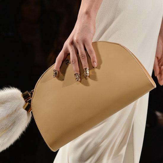 Nail Rings at Aigner | Milan Fashion Week Fall 2013