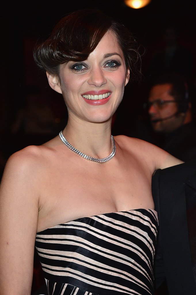 Marion Cotillard wore Christian Dior at the César Awards.