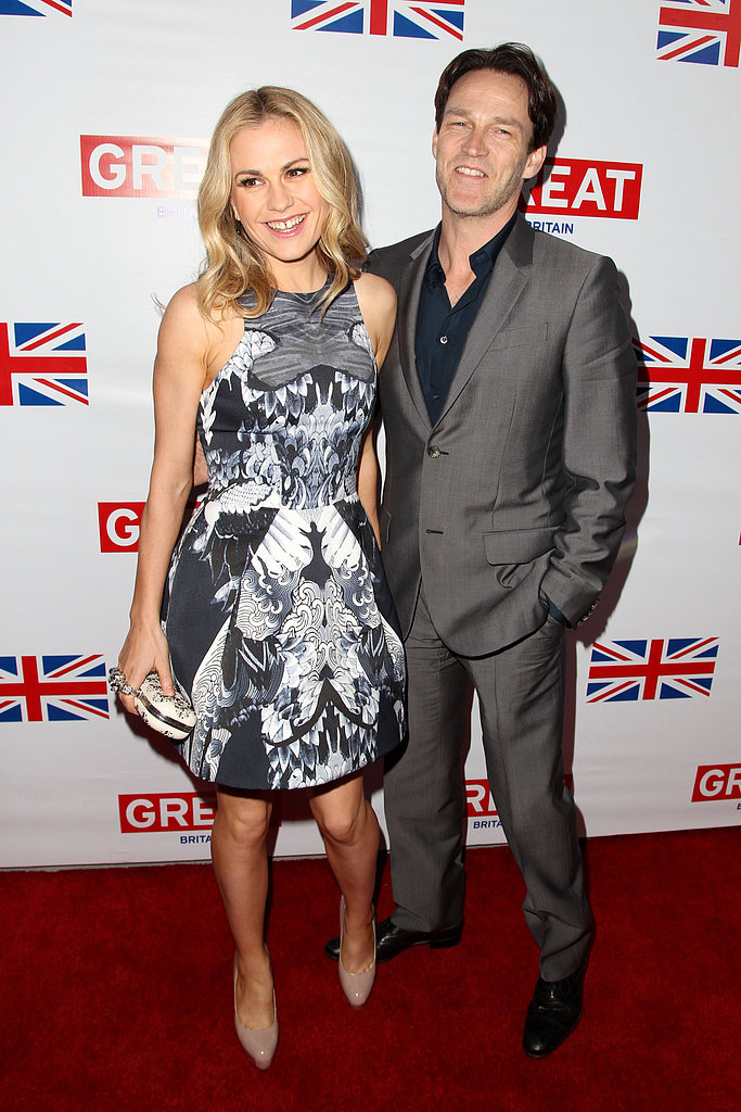 Anna Paquin and Stephen Moyer coupled up at the Great British Film Reception on Friday night in LA.